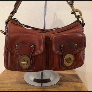 Coach  Anni. Legacy Edition Shoulder Bag / Whiskey